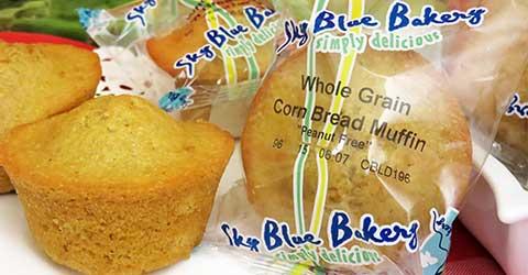 WG Cornbread Muffins – Skybluefoods.com