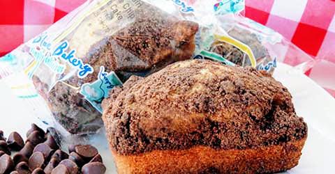 WG Chocolate Chip Crumb Loaf – Skybluefoods.com