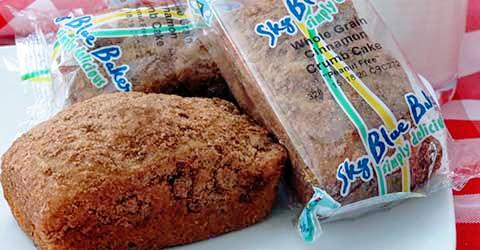 WG Cinnamon Crumb Loaf – Skybluefoods.com