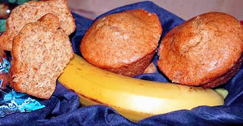 WG Simply Banana Mini Muffins – Skybluefoods.com