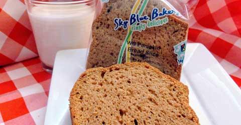WG Pumpkin Bread Slice