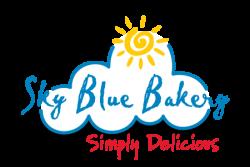 Individually Wrapped Bakery | Sky Blue Bakery Logo